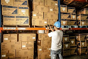 RDFI warehouse management